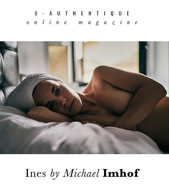 B-Authentique, Paris, just published one of my Leica series  featuring my love @ines_imhof :