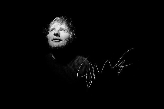 Ed Sheeran. Part of my series SIGNED. .