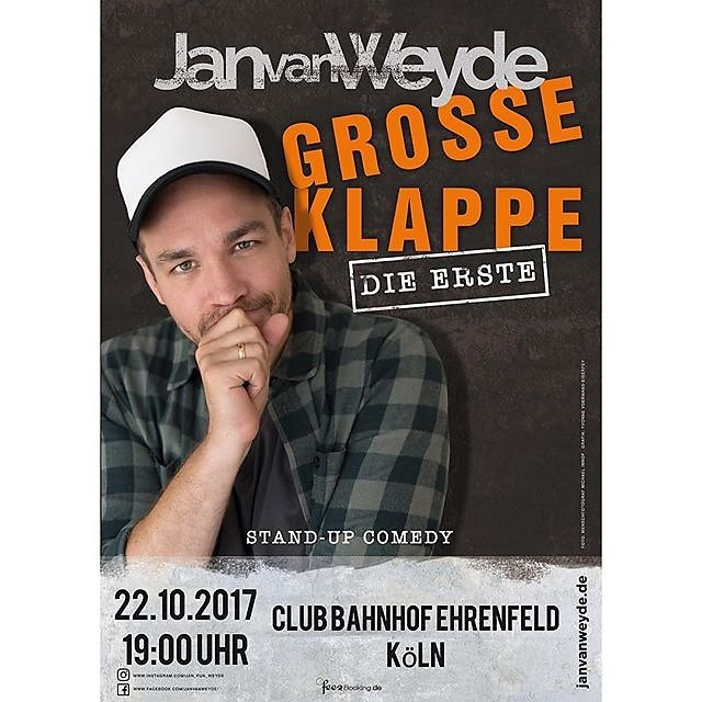Love to see one of my pics used by one of Germany's best comedians @jan_fun_weyde #menschfotograf #professionalphotographer #sedcardshooting #compcard #actorlife #germanactor #comedians #speakers #dubber #schauspieler #sprecher #synchron #authors #comedys